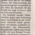 """Die """"Niederösterreichischen Nachrichten"""" berichteten schon am 27.1.2010 über die Unterschriftenaktion – aber die Gemeinde schweigt uns gegenüberimmer noch…."""